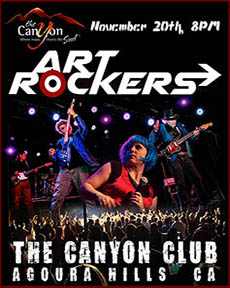 Art Rockers at the Canyon Club