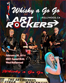 Art Rockers at the Whisky a Go Go Hollywood